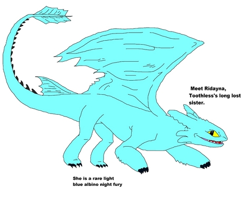 Toothless's Sister