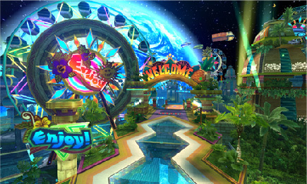 Tropical Resort - Sonic colores