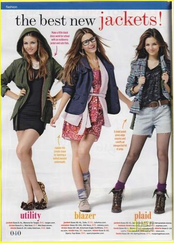 Victoria Justice Seventeen Magazine