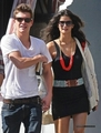 Xavier Samuel and his girlfriend in NYC - twilight-series photo
