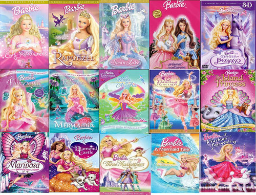 filmes de barbie wallpaper probably containing a banca de jornais and animê called barbie's filmes