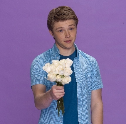 Sterling Knight karatasi la kupamba ukuta called cute-sterling