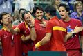 davis cup emotion - feliciano-lopez photo