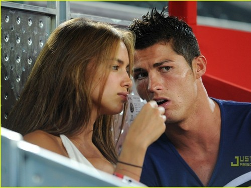 girlfriend irina and c.ronaldo