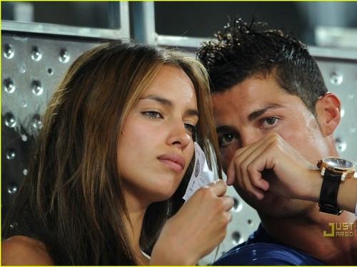 girlfriend irina and c.ronaldo