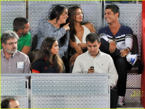 girlfriend irina and ronaldo