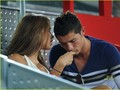 cristiano-ronaldo - girlfriend irina and ronaldo wallpaper