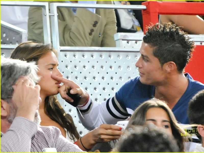 cristiano ronaldo girlfriend 2010 irina. girlfriend irina and ronaldo