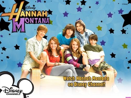 hannah montana season 3 fond d'écran 23