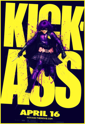 Kick-Ass hình nền containing anime entitled hiT-GIrl