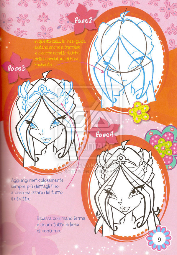 The Winx Club how to draw winx