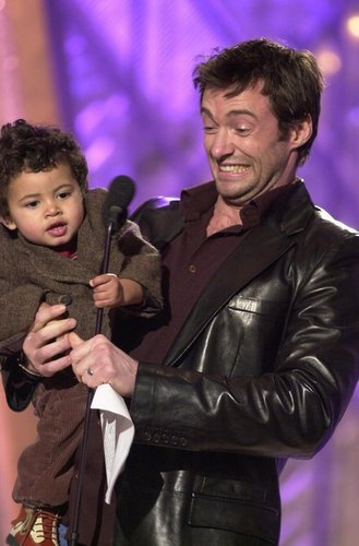 hugh with oscar