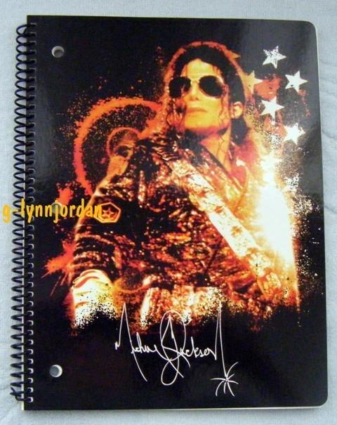 my mj notebooks