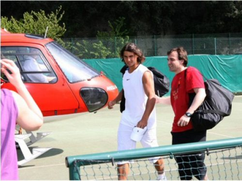 nadal helicoptere