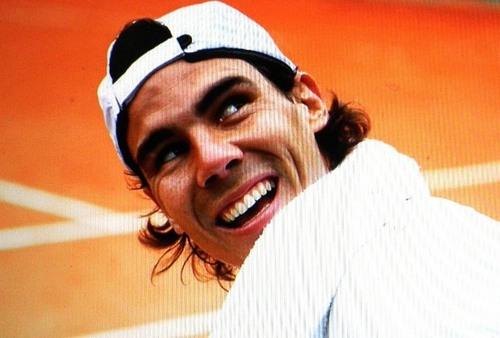 rafa smile lovely