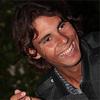 Rafael Nadal photo probably containing a portrait entitled rafa smile