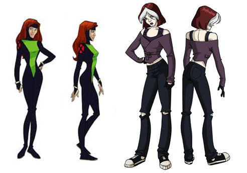 rogue - x-men-evolution Photo