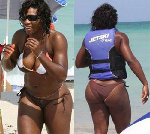 serena williams body...