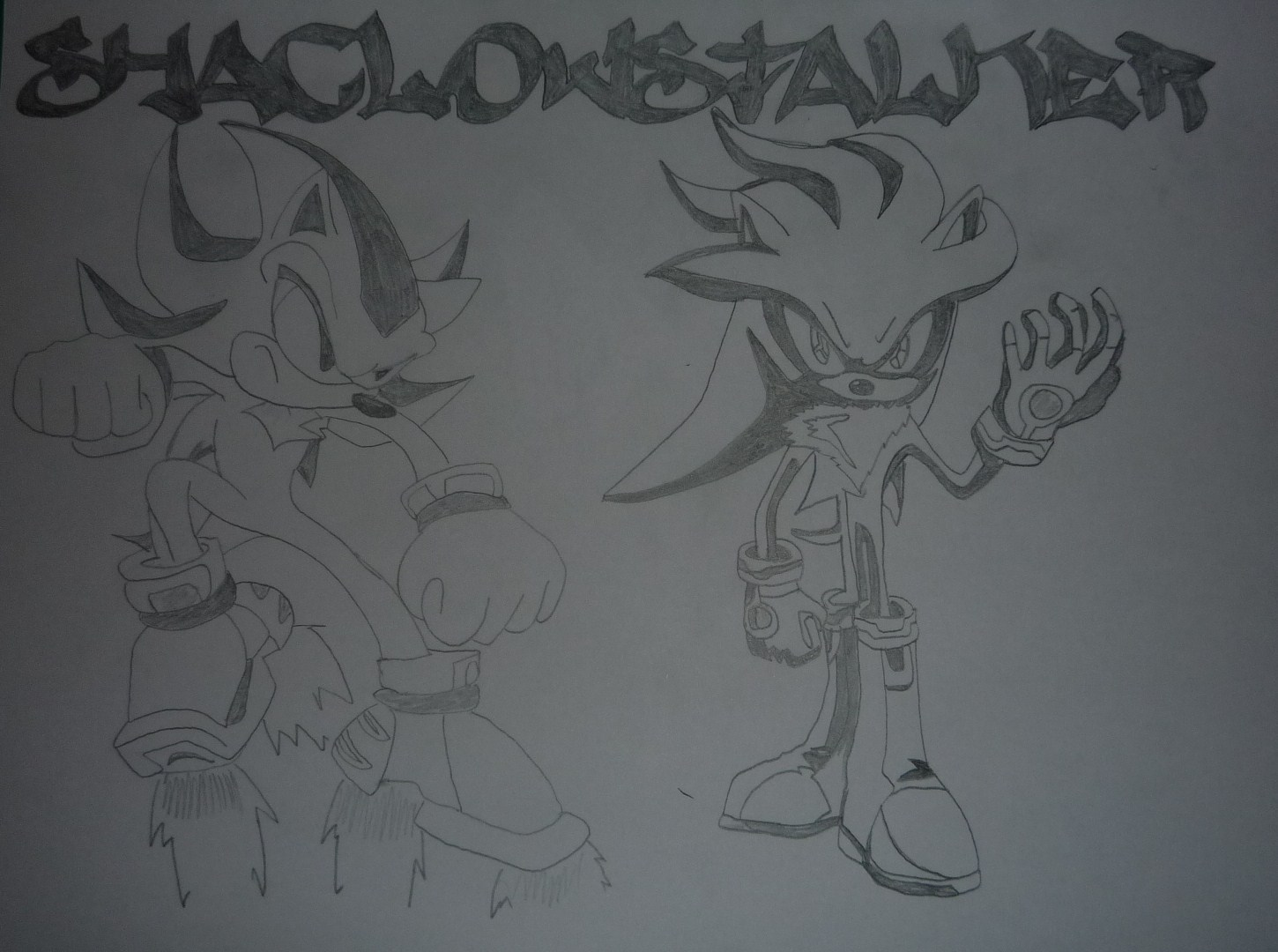 Characters Images Silver Pigstruction: Sonic Fan Characters Fan Art (15585603