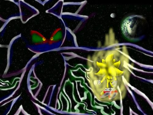 sonic v.s galaxcia