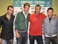 stepanek,berdych,navratil and hajek