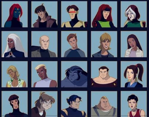 x-men evolution characters
