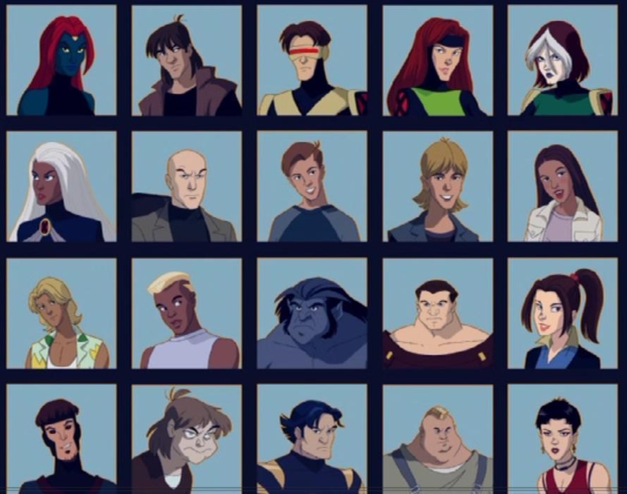 X Men Evolution Characters Profiles x-men evolution characters