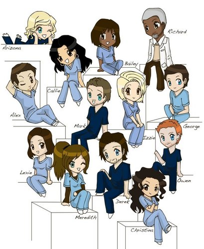 -Grey's Anatomy- - greys-anatomy Fan Art