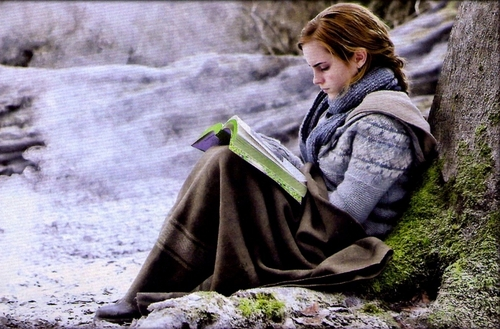 Hermione in forest Deathly Hallows: Part I promo HD