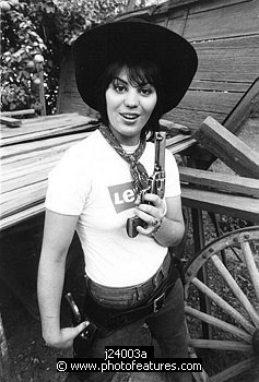 Joan Jett 1979 during filming of 'Were All Crazy Now'