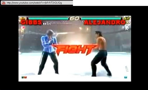 (((NCIS - TEKKEN))) GIBBS VS ALEJANDRO FIGHT!!!!