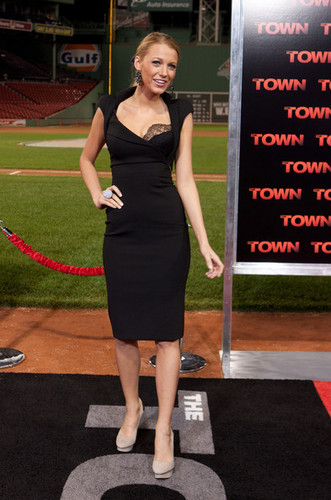 """The Town"" - Boston Premiere - Blake Lively"