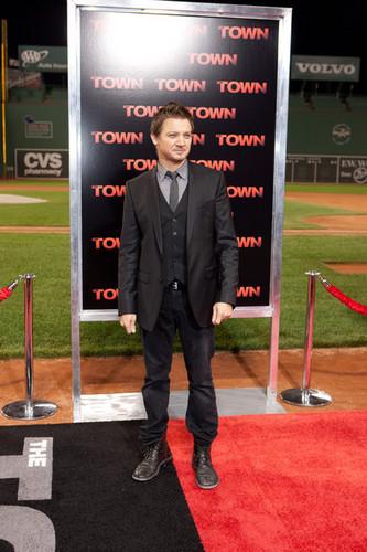 """The Town"" - Boston Premiere - Jeremy Renner"