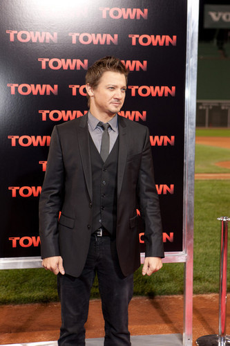 """The Town"" - Boston Premiere - Jeremy Renner"