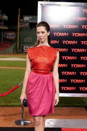 """""""The Town"""" - Boston Premiere - Rebecca Hall"""
