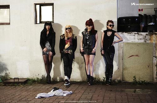 2NE1 - Go away behide scene 사진