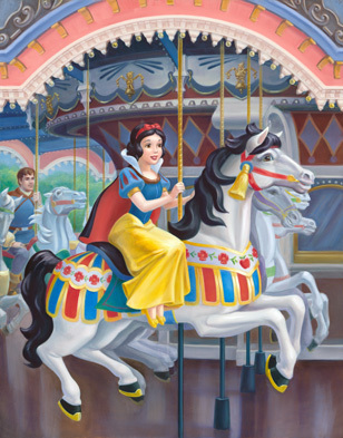 A Royal Carousel: Snow White