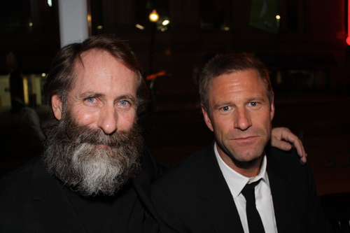 Aaron & Brother Jim  - aaron-eckhart Photo