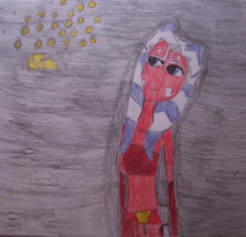 Ahsoka Tano Fanart bởi GalindaGirl