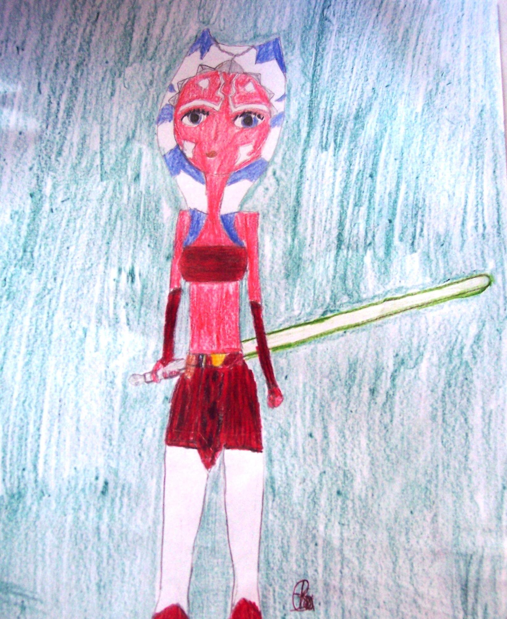 Ahsoka Tano Fanart by GalindaGirl