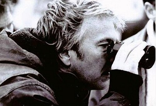Alan directing *The Winter Guest* 1997