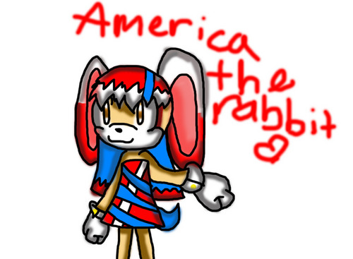 America the rabbit