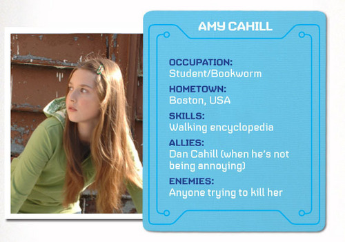 Amy Cahill