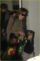 Angelina, Zahara & Shiloh @ LAX