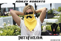 Asley Roberts Wearing an Insta-Face Bandana from Cyanide Stitches. - ashley-roberts photo
