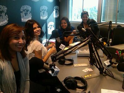 At power 106 FM-September 20