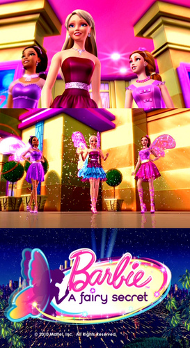 Barbie A Fairy Secret- pics from first trailer!