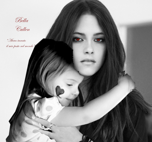 Bella and her daughter Renesmee