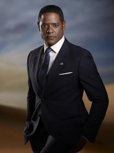 Blair Underwood as President Elias Martinez