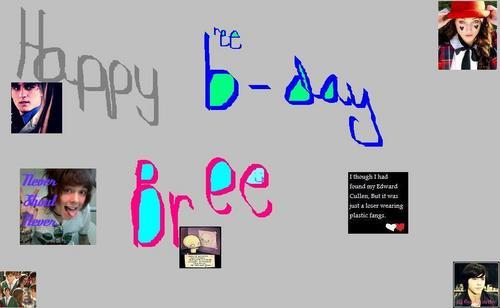 Bree's Birthday Gift!
